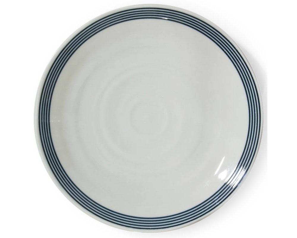 """Seseragi 10.25"""" Round Plate-1"""