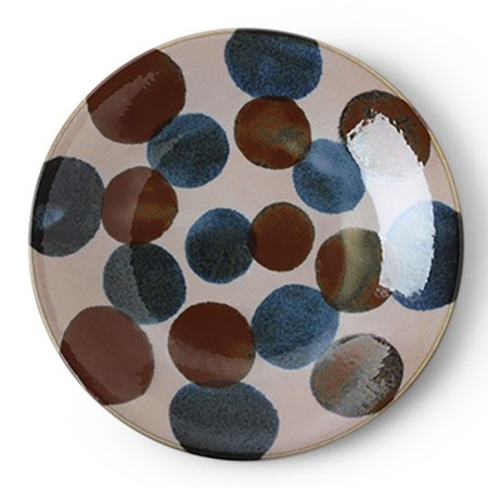 """Rustic Dots 11"""" Plate-1"""