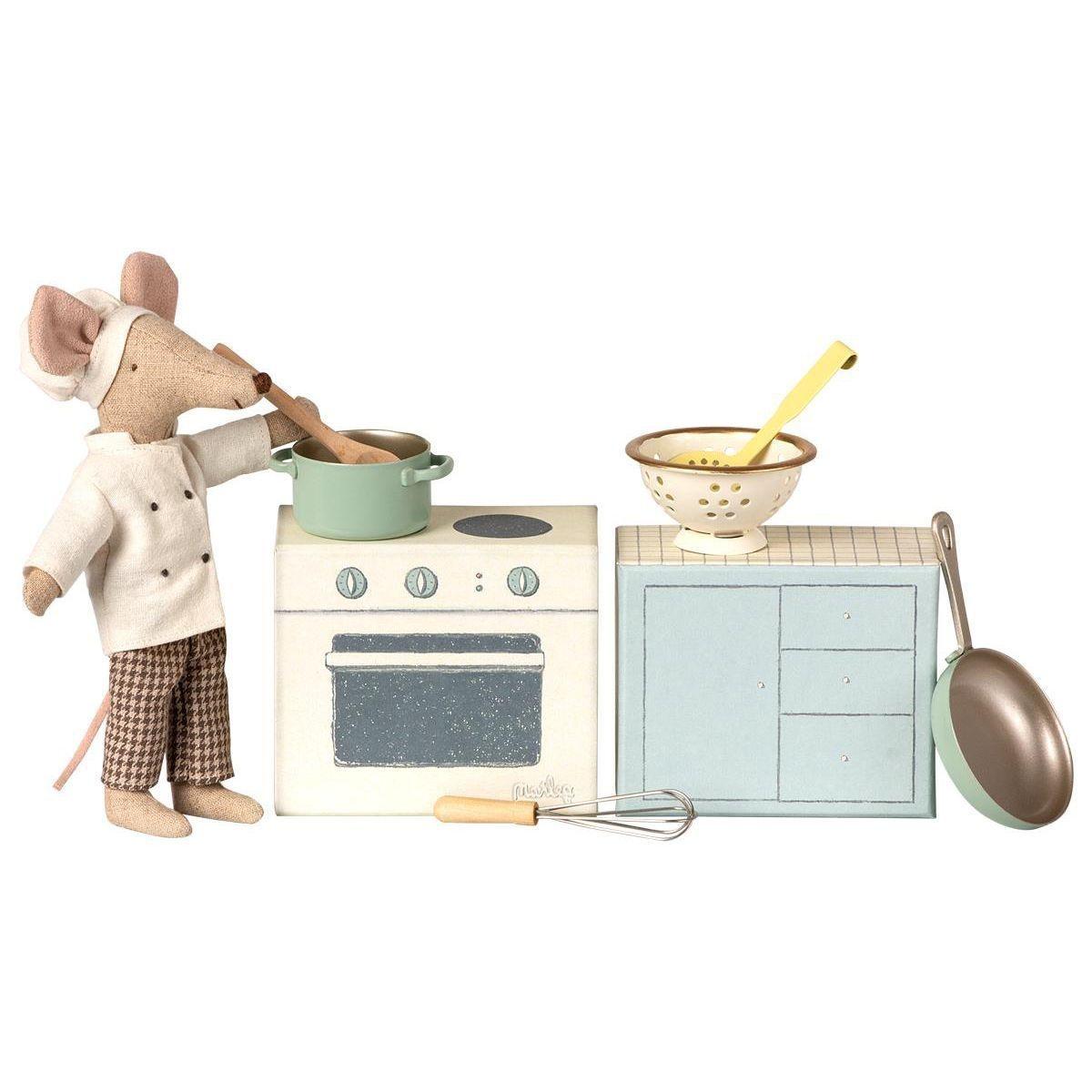 MAILEG COOKING SET-1