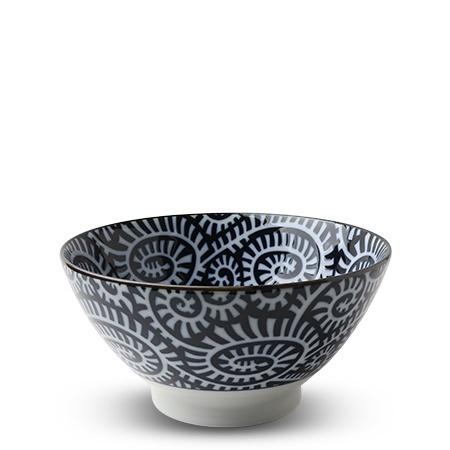 """Blue & White Karakusa 7"""" Noodle Bowl-1"""