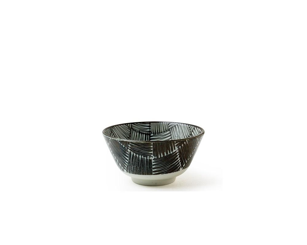 """Bowl - Komon Ichimatsu 5""""-1"""