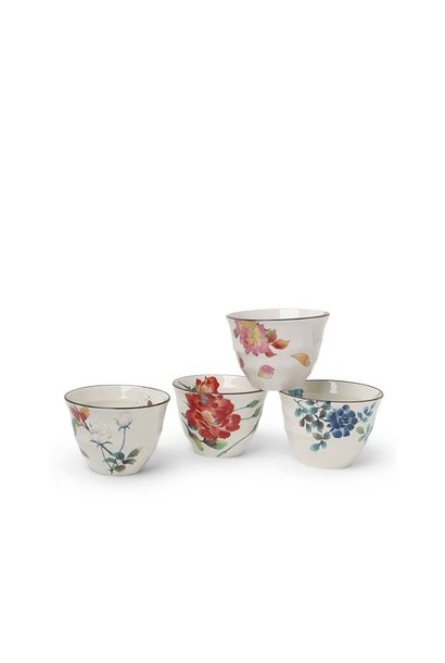 Teacup Set - Floral Summer 7 Oz.
