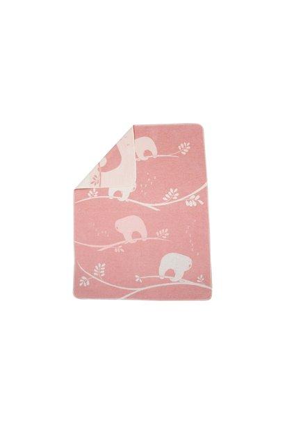 Blanket - Sloth - Pink