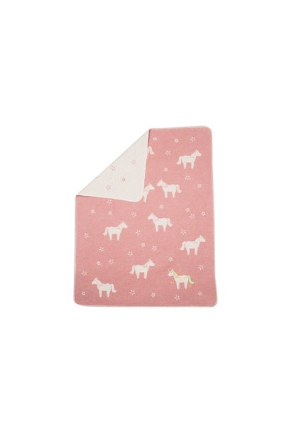 Blanket - Unicorn - Pink