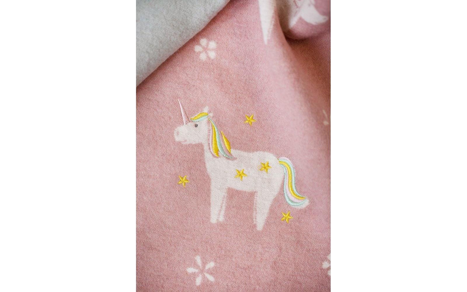 Blanket - Unicorn - Pink-2