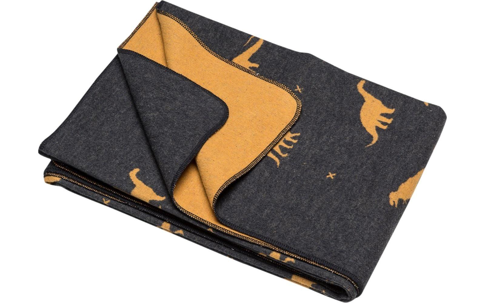 Blanket - Dino - Charcoal-1