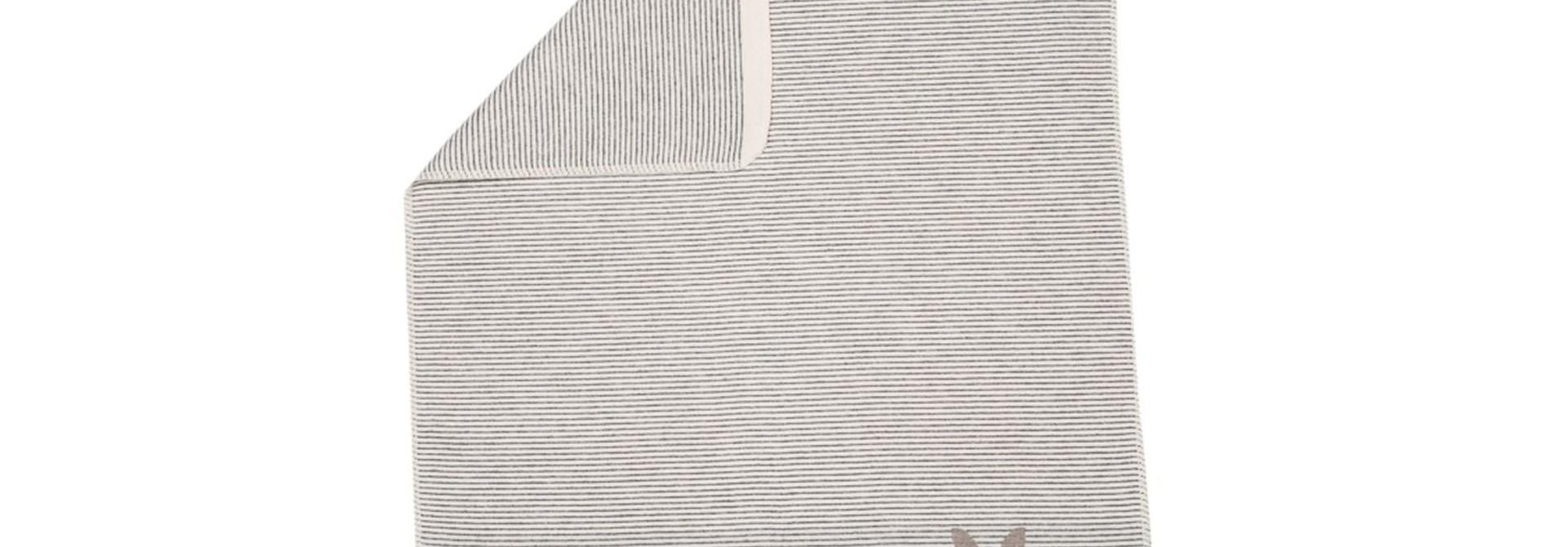 Blanket -  Bunny - Stripe Grey