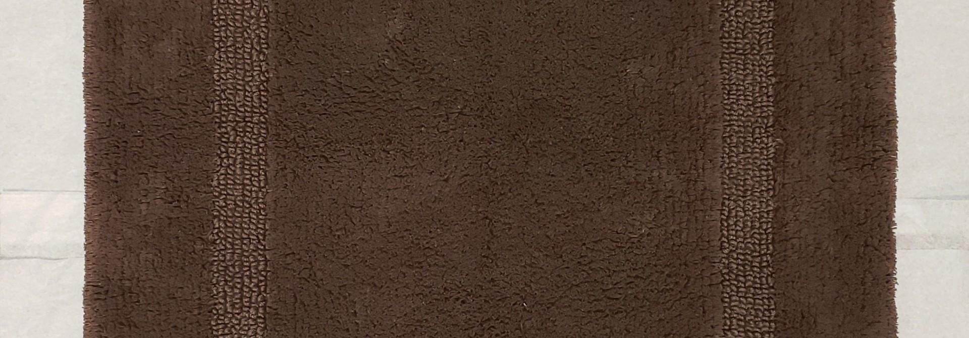 Bath Mat - Reversible - Brown