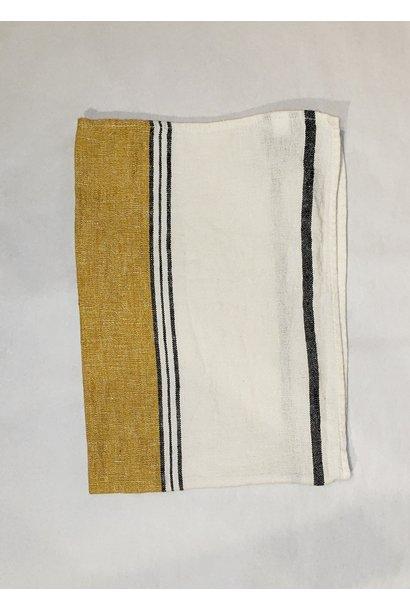 Tea Towel - Lecci- Saffron