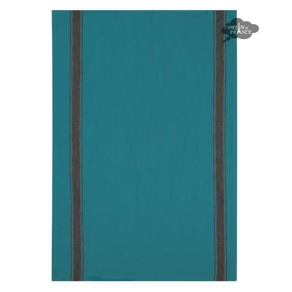Olbia Tea Towel - Vivario Turq-1