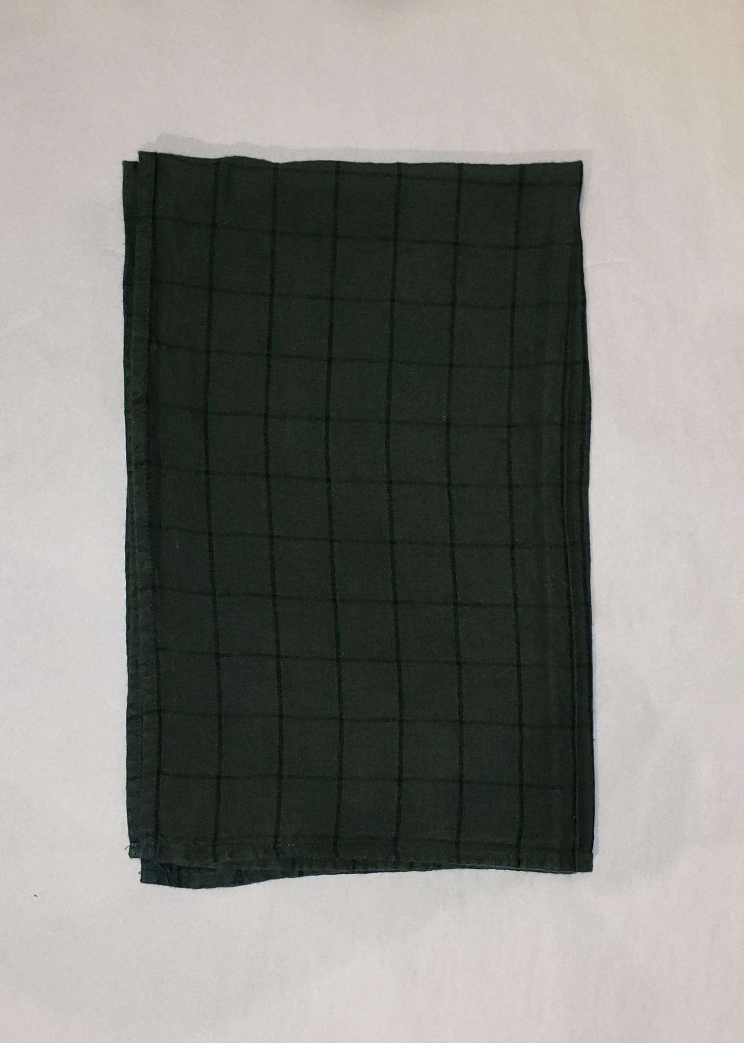 Tea Towel - Chieti - Dk Green-1