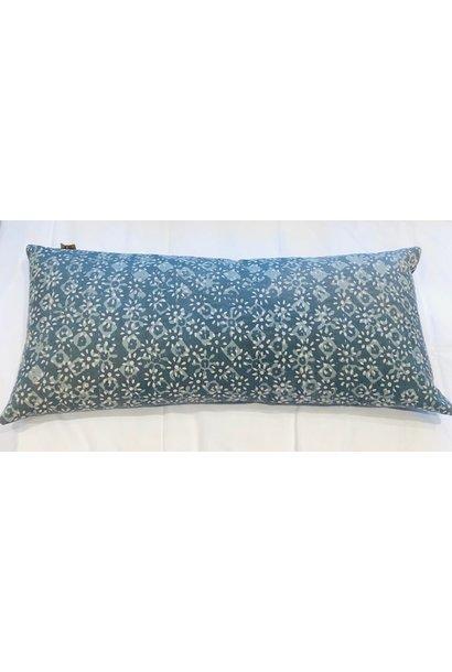 Cushion - Floral - Grey