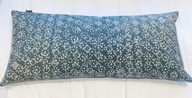 Cushion - Floral - Grey-1