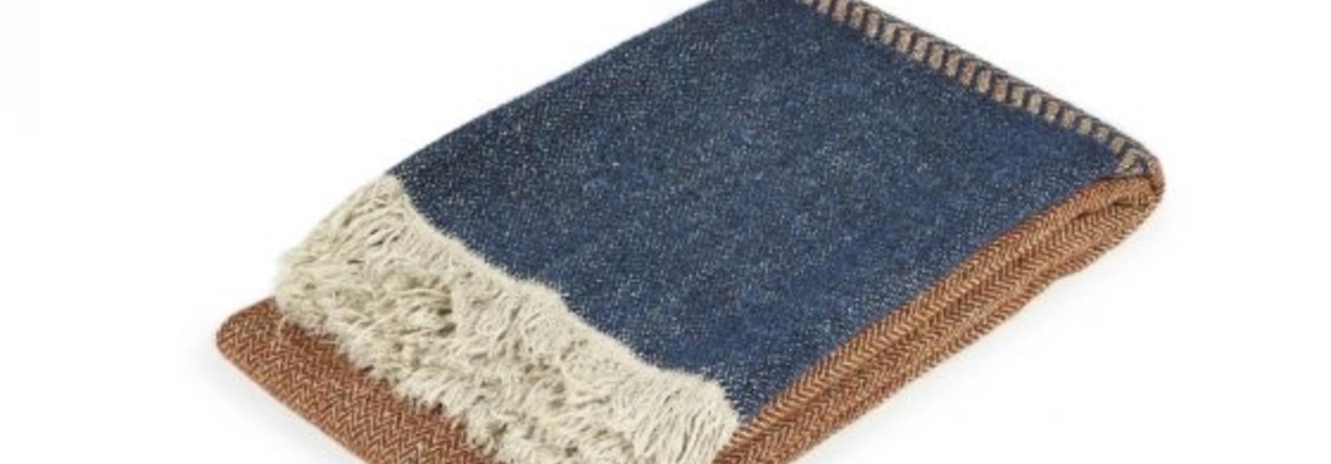 Blanket/Throw - Jules - Rust