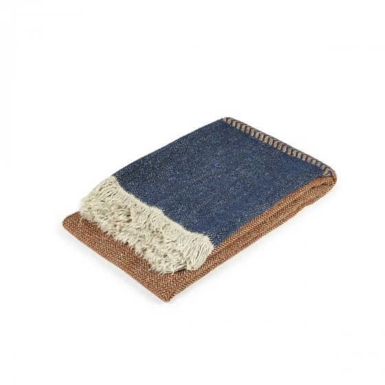 Blanket/Throw - Jules - Rust-1