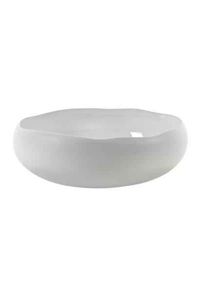 "10""  Bowl Irregular Shape - White"