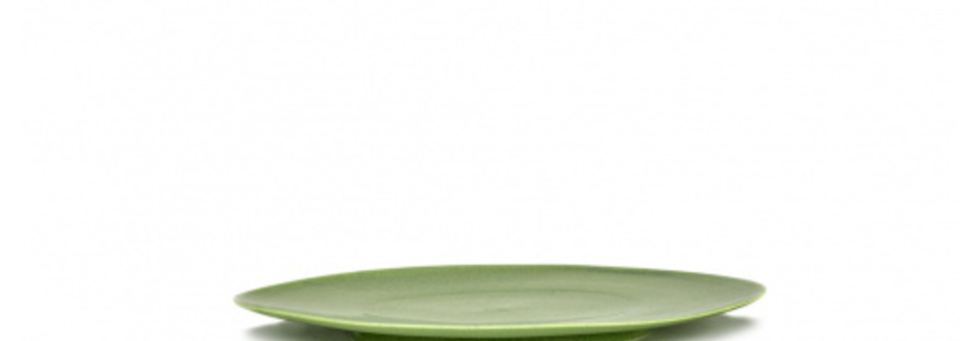 Plate - Green - Medium