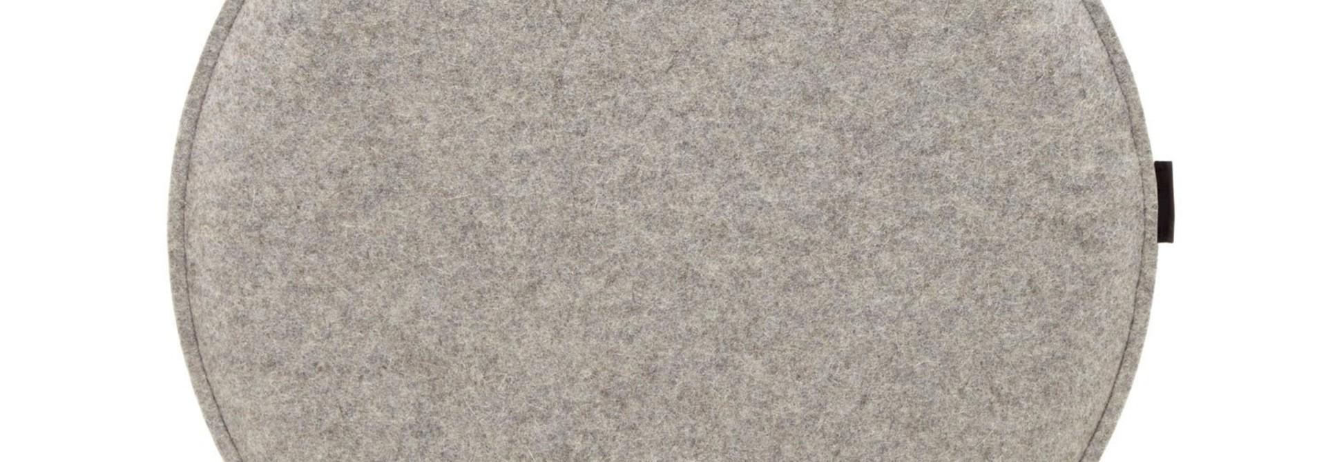 Seat Pad - Round - Granite
