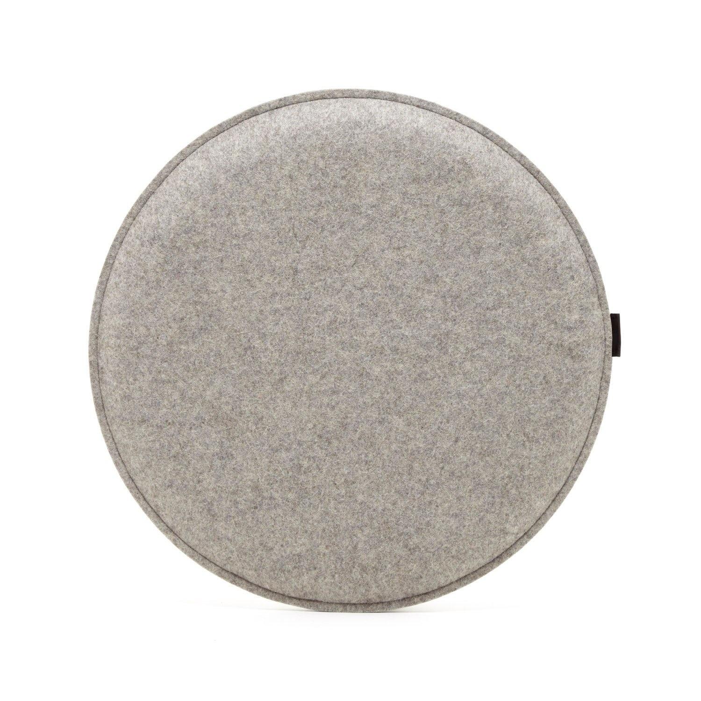 Seat Pad - Round - Granite-1