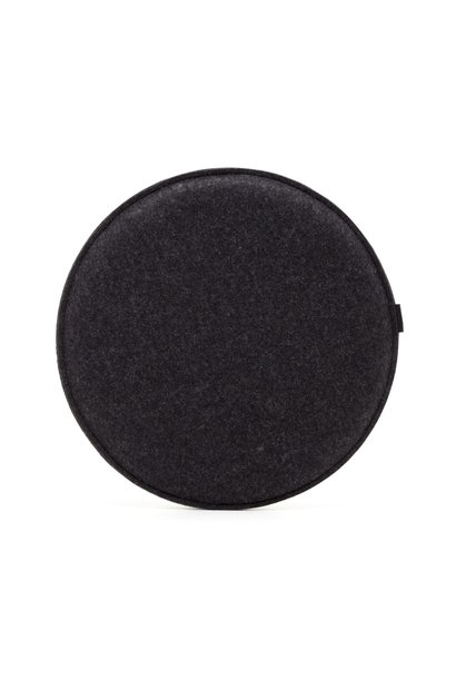 Seat Pad - Round -Charcoal