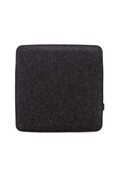 Seat Pad - Square - Charcoal