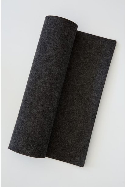 Table Runner - Felt - Charcoal