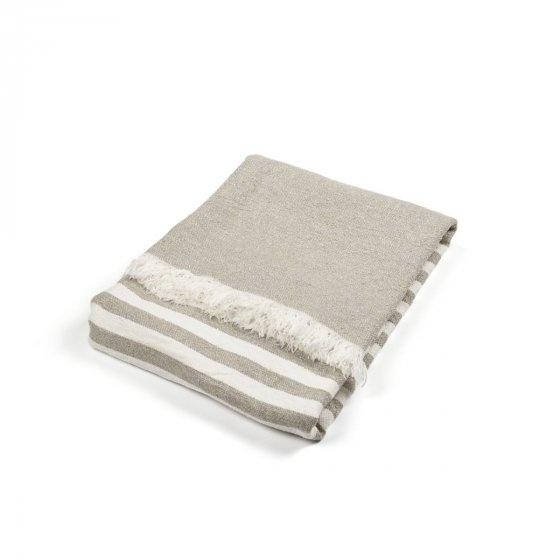 Throw - Camille - White/Grey-2