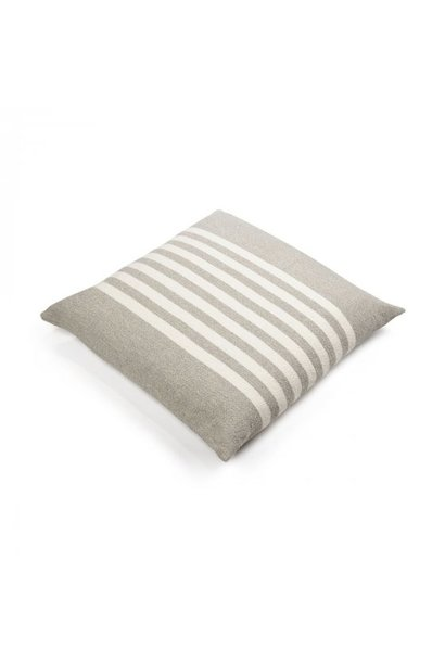 Cushion - Camille - Grey/White