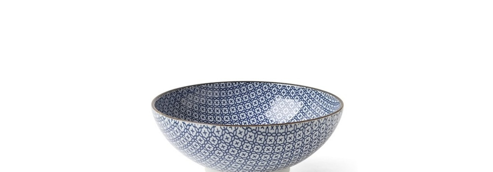 Blue and White Mosaic - Bowl
