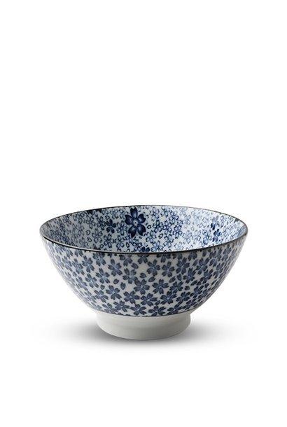 Blue & White Sakura - Noodle Bowl