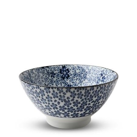 Blue & White Sakura - Noodle Bowl-1