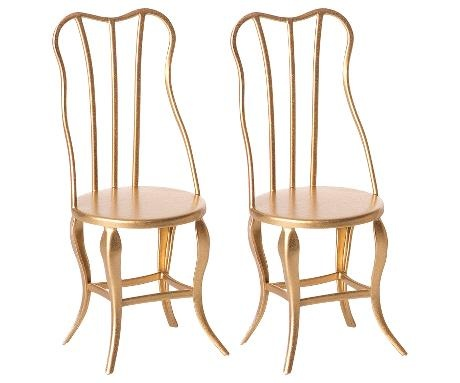 Vintage Chair Micro - Gold - 2 Pack-1