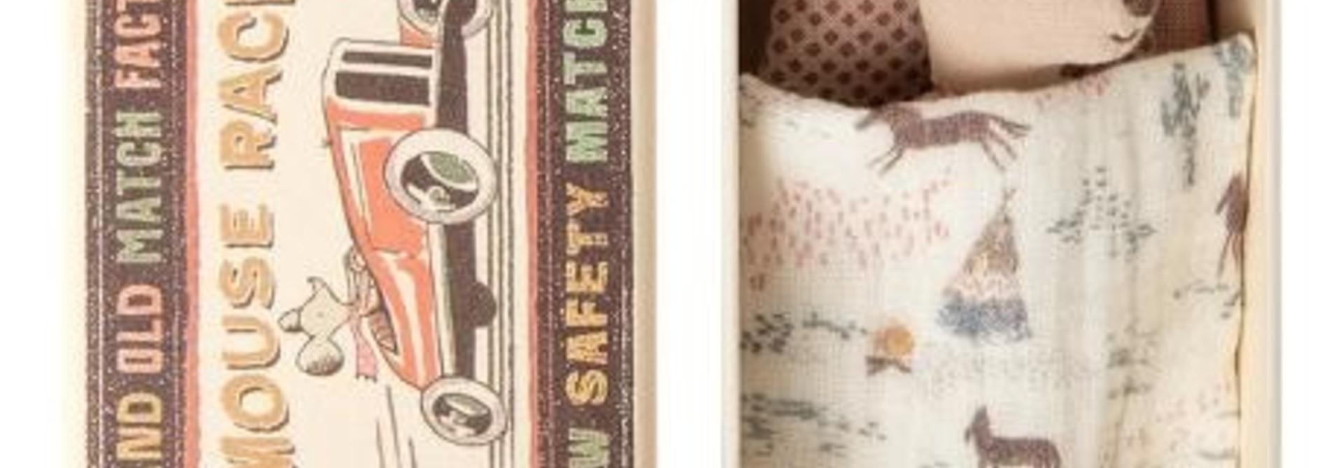 Little Sister Mouse - Matchbox - Quilt