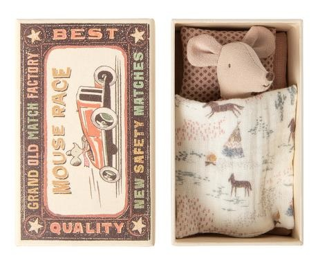 Little Sister Mouse - Matchbox - Quilt-1