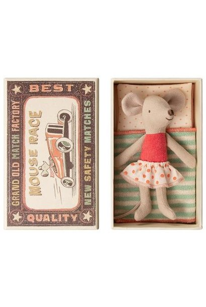 Little Sister Mouse - Matchbox - Green
