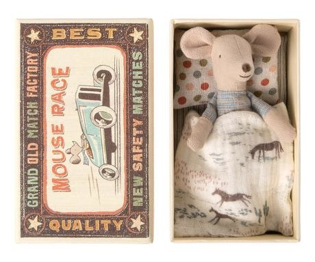 Little Brother Mouse - Matchbox - Quilt-1