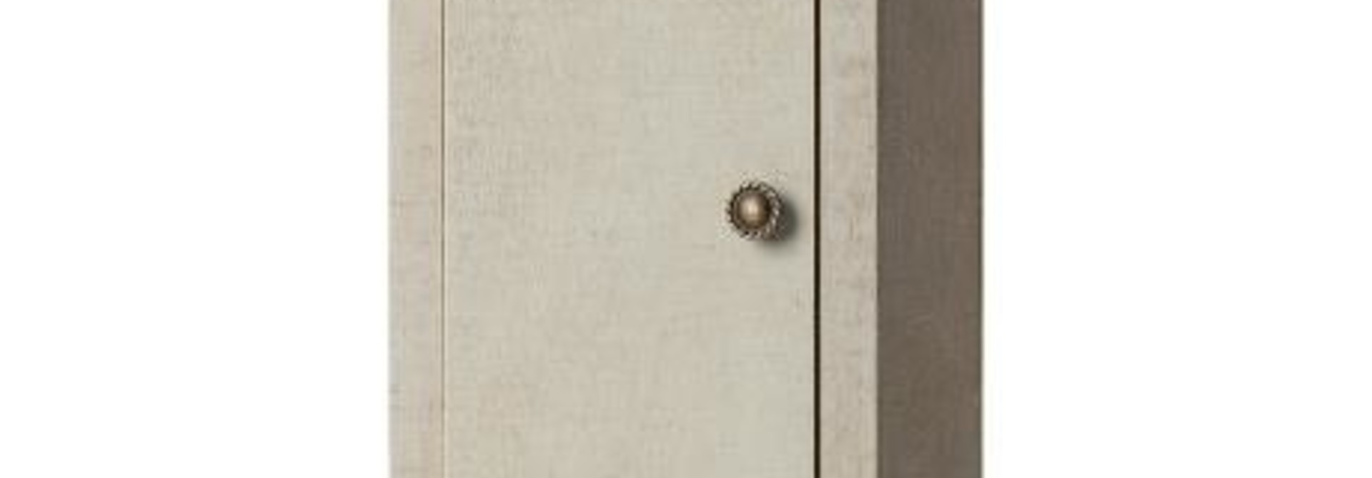 Vintage Closet w/Shelves - Mint-Grey