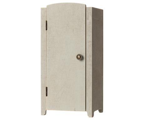 Vintage Closet w/Shelves - Mint-Grey-1