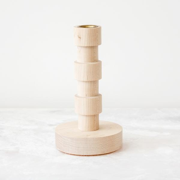 Candleholder - Franc - Maple - S-1