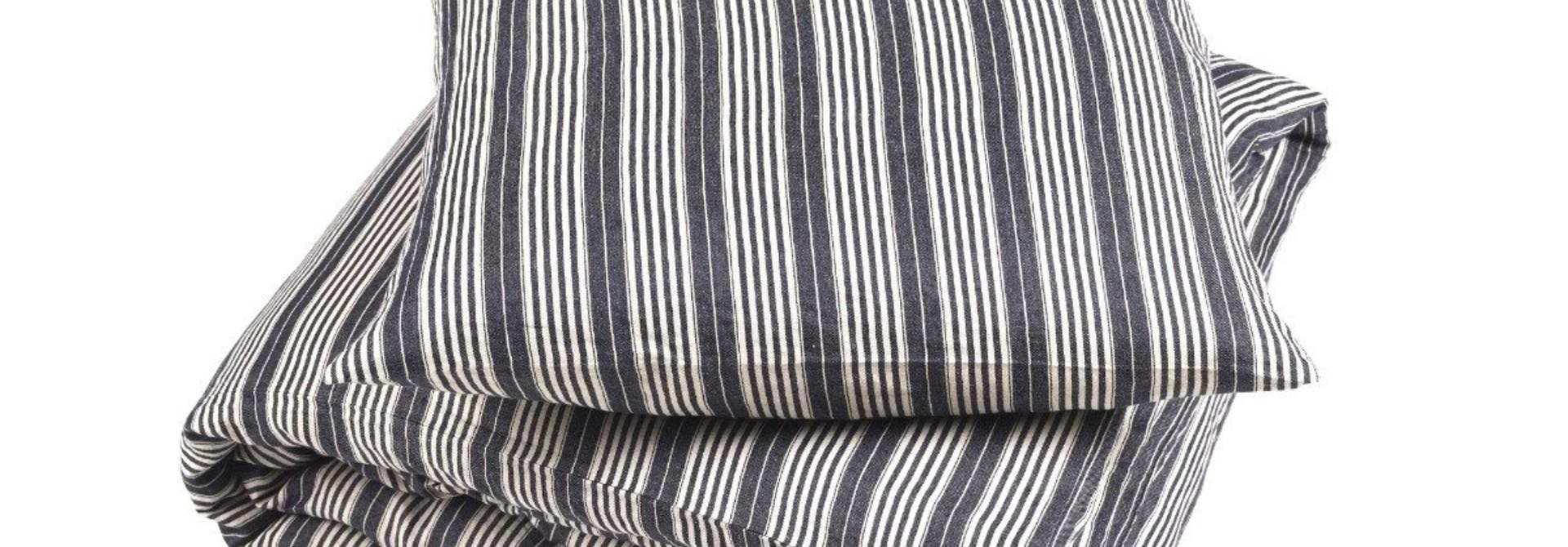 Pillow Sham - Tack Stripe -  Queen