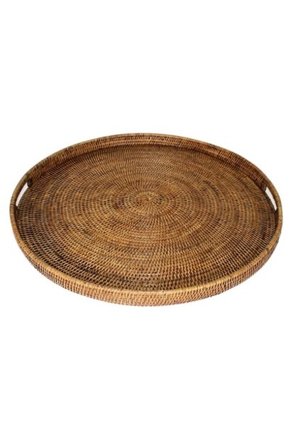 Round  Tray w/ Handle