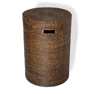 Round Laundry Hamper (Large)-1