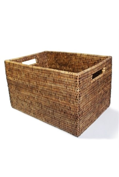 Rectangular Open Storage Basket