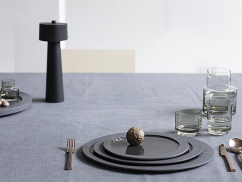 Dessert Plate - M. Baas - Grey-2