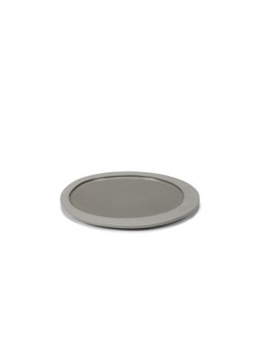 Dessert Plate - M. Baas -Lt. Grey-1