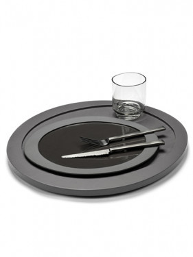 Lunch Plate - M. Baas - Grey-2