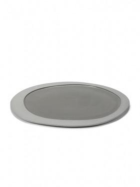Dinner Plate - M. Baas - Lt. Grey-1