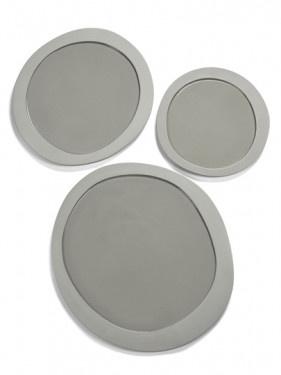 Dinner Plate - M. Baas - Lt. Grey-2
