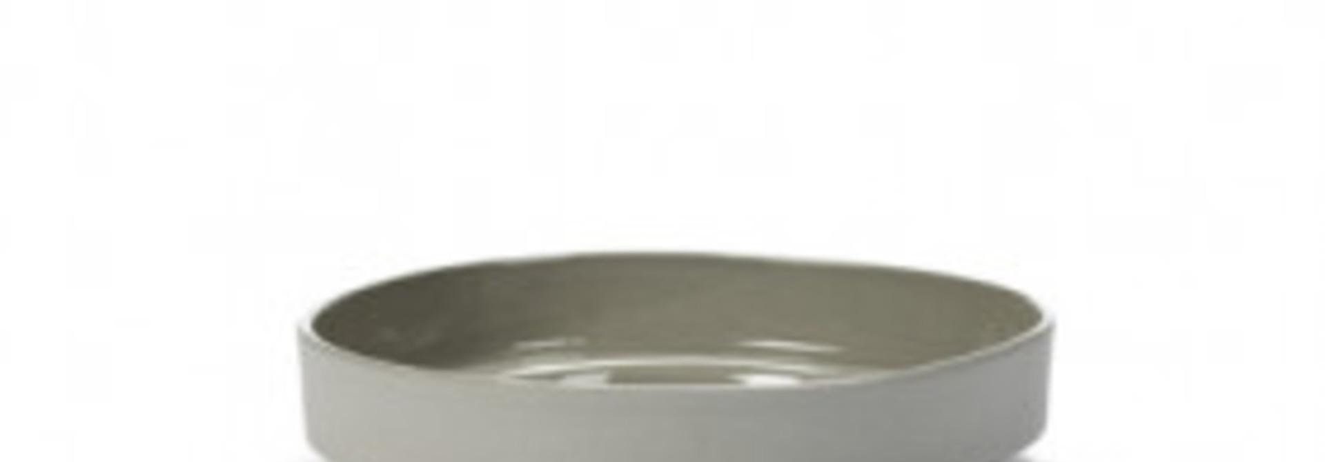 Salad/Pasta Bowl - M. Baas - Lt. Grey