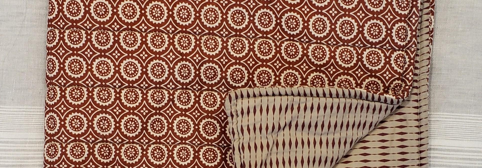 Cushion Covers - Rust - Set of 3